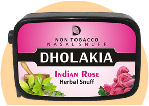 Indian Rose Non Tobacco Sunff