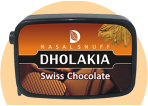 Flavoured Swiss Chocolate Snuff